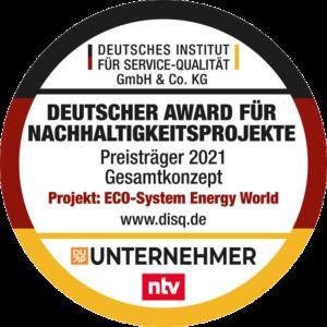 Award Nachhaltigkeitsaward